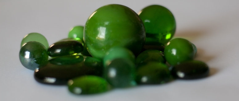 Green Marbles Isabelle Puauat