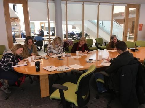 Resilience workshop at Cape Breton University